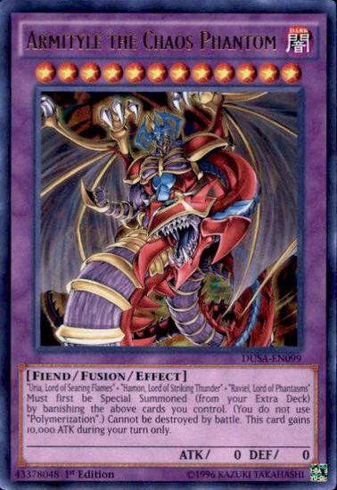YuGiOh Duelist Saga Ultra Rare Armityle the Chaos Phantom DUSA-EN099