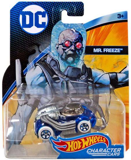 Hot Wheels DC Character Cars Mr. Freeze Die-Cast Car