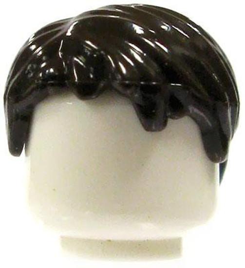 LEGO Dark Brown Short & Messy Loose Hair [Loose]