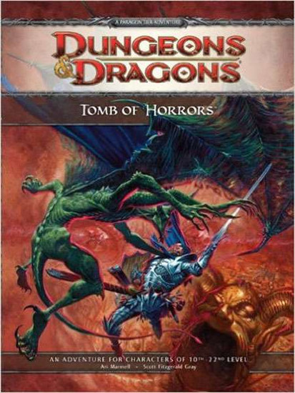 Dungeons & Dragons D&D 4th Edition Tomb of Horrors