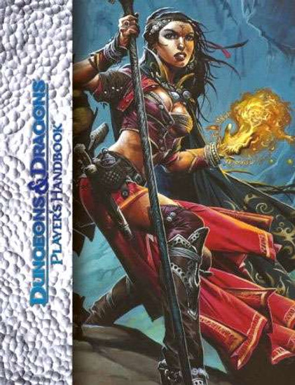 Dungeons & Dragons D&D 4th Edition Player's Handbook [Deluxe Edition]