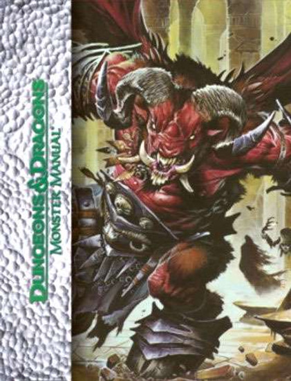 Dungeons & Dragons D&D 4th Edition Monster Manual [Deluxe Edition]