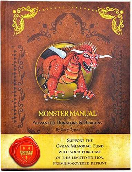 Advanced Dungeons & Dragons Monster Manual Roleplaying Book