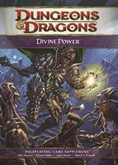 Dungeons & Dragons D&D 4th Edition Divine Power