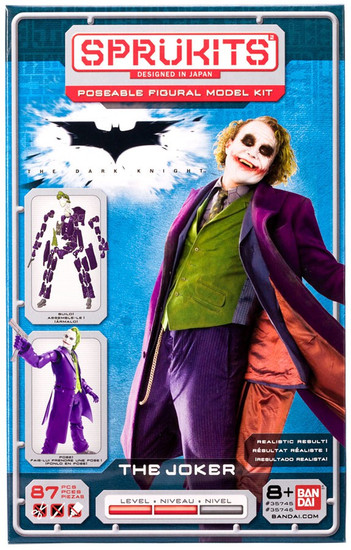 DC The Dark Knight The Joker 6-Inch Spru Kit