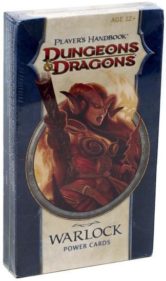 Dungeons & Dragons D&D 4th Edition Player's Handbook Warlock Power Cards