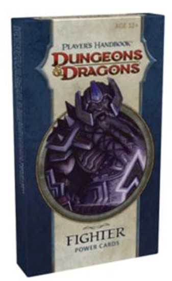 Dungeons & Dragons D&D 4th Edition Player's Handbook Fighter Power Cards