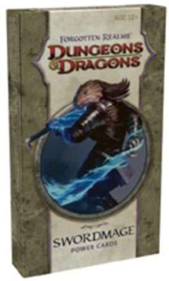 Dungeons & Dragons D&D 4th Edition Forgotten Realms Arcane Power Swordmage 2 Power Cards