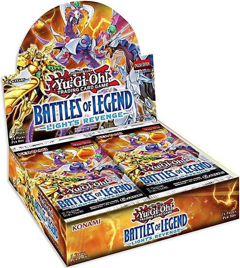 YuGiOh Trading Card Game Battles of Legend Light's Revenge Booster Box [24 Packs]