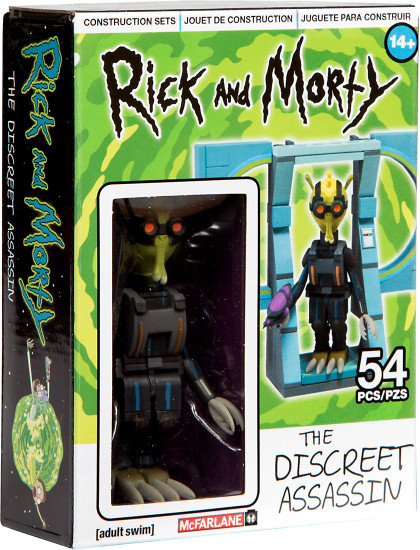 McFarlane Toys Rick & Morty The Discreet Assassin Micro Construction Set