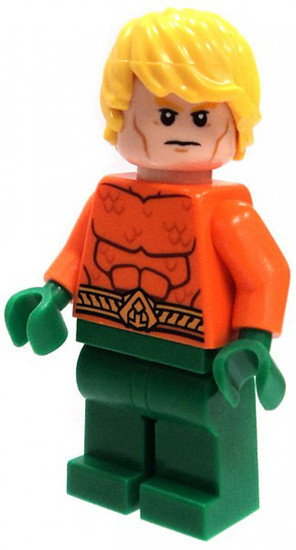 LEGO DC Universe Super Heroes Aquaman Minifigure [Figure Only Loose]