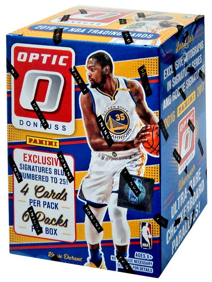 NBA Panini 2016-17 Donruss Optic Basketball Trading Card BLASTER Box [6 Packs]