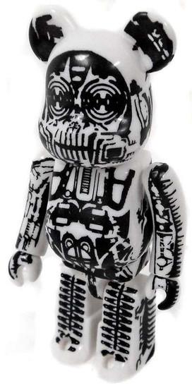 Bearbrick Series 12 H.R. Giger Figure [Loose]