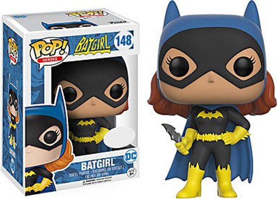 Funko DC POP! Heroes Batgirl Exclusive Vinyl Figure #148