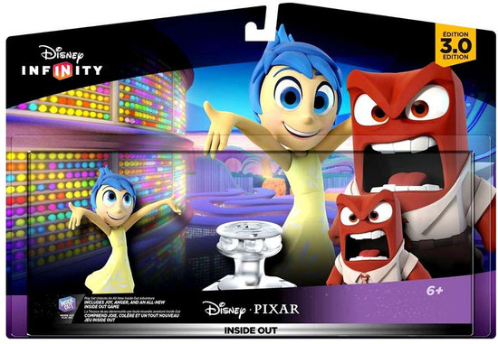 Disney Infinity 3.0 Originals Inside out Game Figure 2-Pack