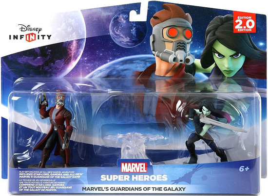 Disney Infinity 2.0 Edition Marvel Super Heroes Guardians of the Galaxy Game Figure 2-Pack