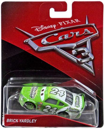 Disney / Pixar Cars Cars 3 Brick Yardley Diecast Car