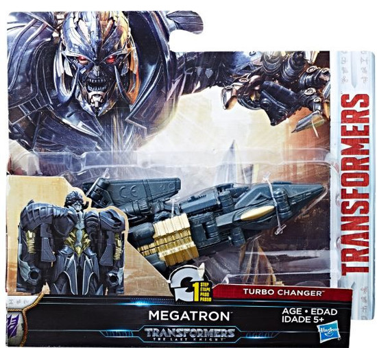 Transformers The Last Knight 1 Step Turbo Changer Megatron Action Figure