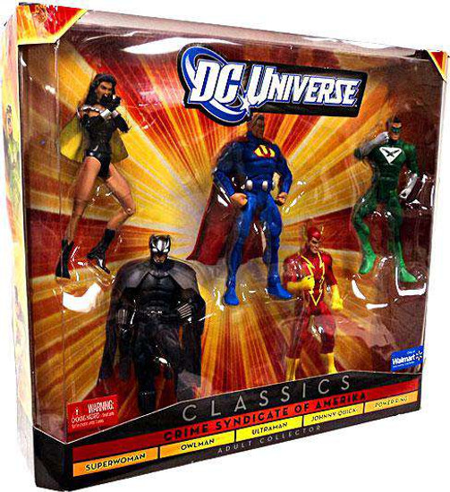 DC Universe Classics Crime Syndicate of Amerika Exclusive Action Figure Set [Damaged Package]