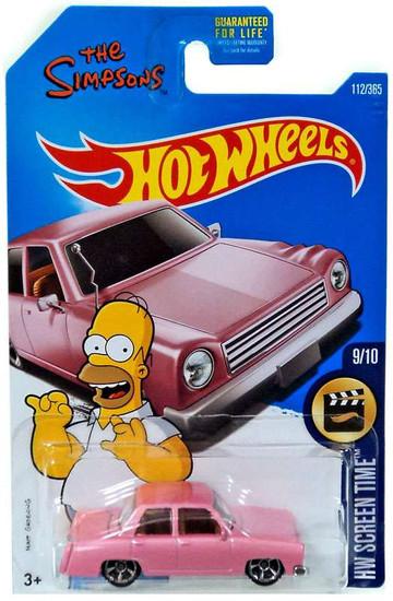 Hot Wheels HW Screen Time The Simpsons Family Car Diecast Car #9/10
