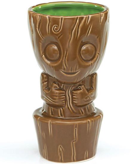 Marvel Guardians of the Galaxy Geeki Tiki Baby Groot 7-Inch Tiki Glass