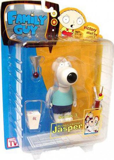 Family Guy Series 3 Jasper Action Figure [Blue Shirt]