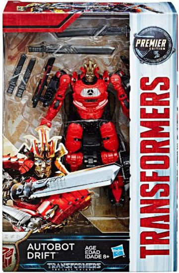 Transformers The Last Knight Premier Deluxe Autobot Drift Action Figure