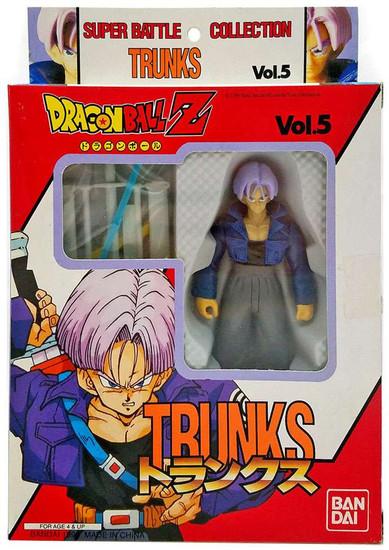 Dragon Ball Z Super Battle Collection Trunks Action Figure