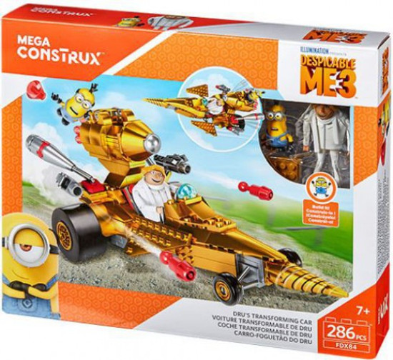 Despicable Me Minions Dru's Transforming Car Set
