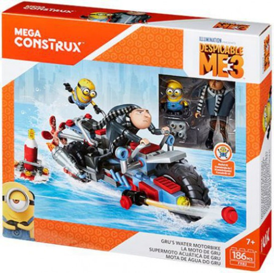 Despicable Me Minions Gru's Water Motorbike Set