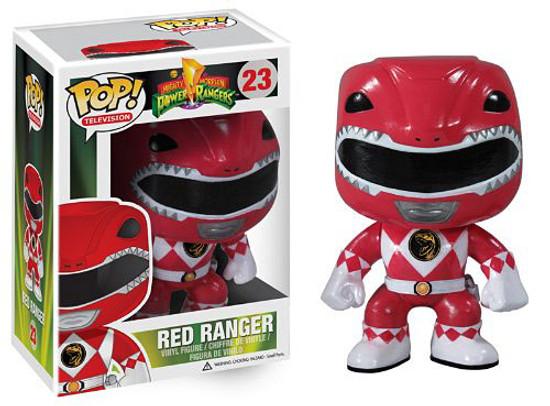 Funko Power Rangers POP! TV Red Ranger Vinyl Figure #23