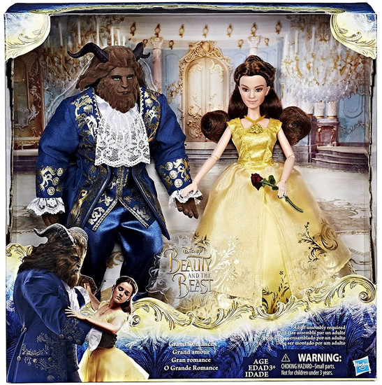Disney Beauty and the Beast Grand Romance Doll 2-Pack [Belle & The Beast]