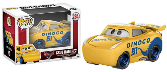 Funko Cars 3 POP! Disney Cruz Ramirez Vinyl Figure #284