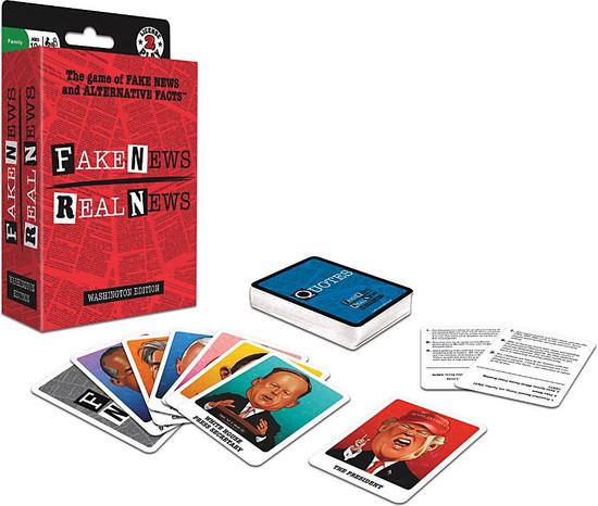Fake News Real News Card Game [Nonpartisan Political Game!]