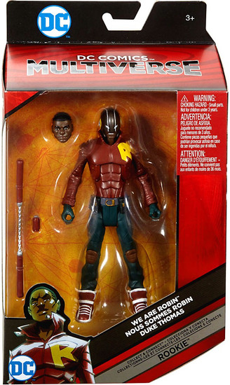 DC We Are Robin Multiverse Rookie Series Duke Thomas Action Figure