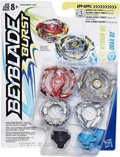 Beyblade Burst Wyvron W2 & Odax O2 Dual Pack