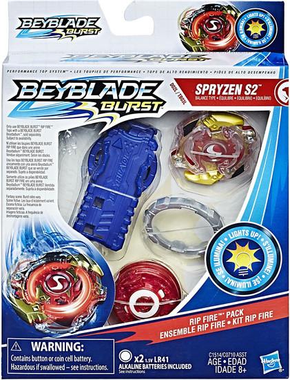 Beyblade Burst Spryzen S2 Rip Fire Starter Pack