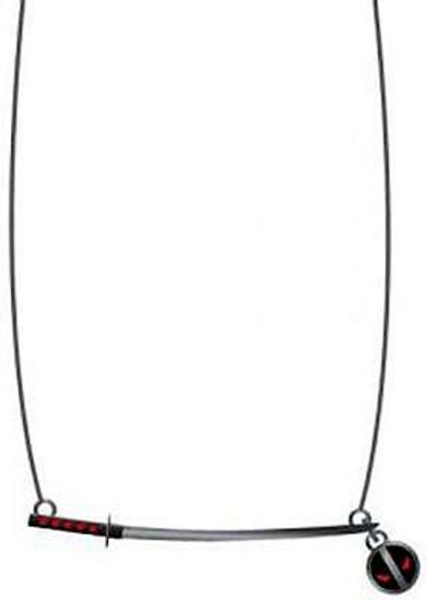 Marvel Deadpool Katana Necklace Apparel