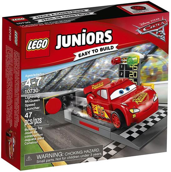 LEGO Disney / Pixar Cars Cars 3 Juniors Lightning McQueen Speed Launcher Set #10730