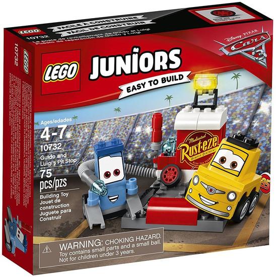 LEGO Disney / Pixar Cars Cars 3 Juniors Guido and Luigi's Pit Stop Set #10732