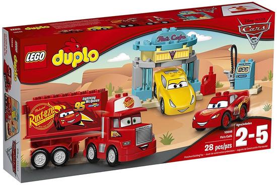 LEGO Disney / Pixar Cars Cars 3 Duplo Flo's Cafe Set #10846