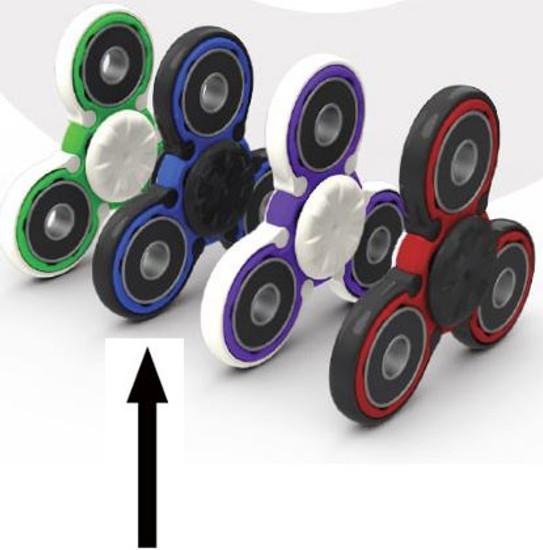 Quixters Blue Basic Spinner [Black Outside]