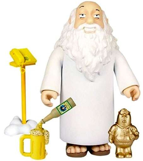 Family Guy Series 5 God Action Figure [Damaged Package]