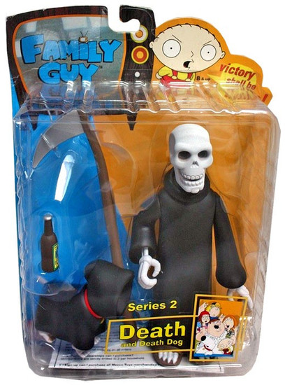 Family Guy Series 2 Death Action Figure [Skull]