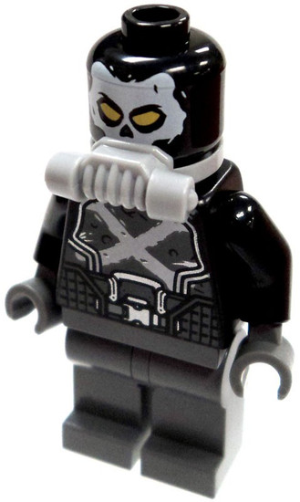 LEGO Marvel Super Heroes Crossbones Minifigure [Civil War Loose]