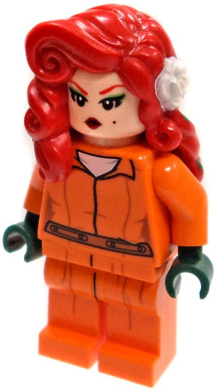 LEGO DC Arkham Prison Jumpsuit Poison Ivy Minifigure [Loose]