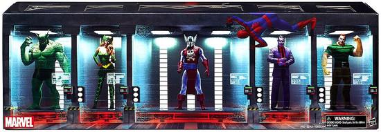 Spider-Man Marvel Legends The Raft Exclusive Action Figure 6-Pack Set