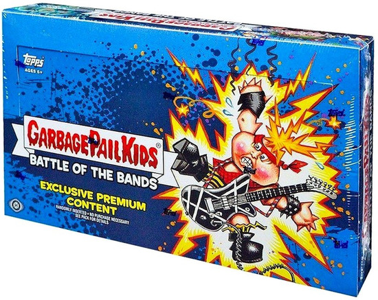 Garbage Pail Kids Topps 2017 Series 2 Battle of the Bands Trading Card Sticker COLLECTOR Edition HOBBY Box [24 Packs]