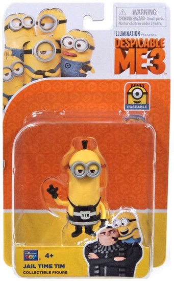 Despicable Me 3 Jail Time Tim Action Figure