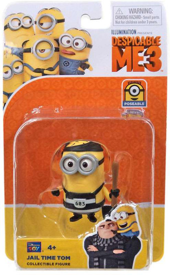 Despicable Me 3 Jail Time Tom Action Figure